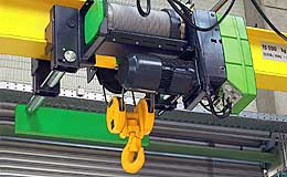 Stahl Hoist Wire Rope Chain Low Headroom Hoists