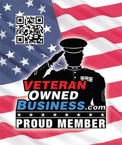 Proud member of the Veteran Owned Business Project